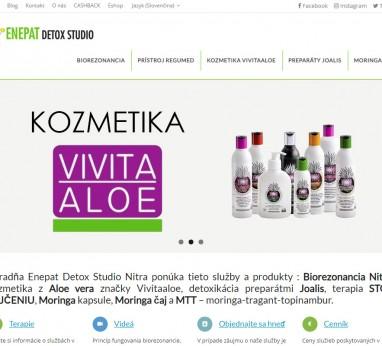 tvorba web stránky parfemessens