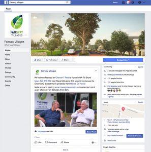 vytvorenie stranky na facebooku